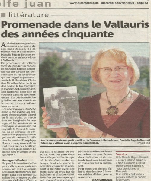 Dédicace Belloutche Vélizy 2009